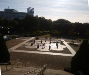 麻溝公園噴水