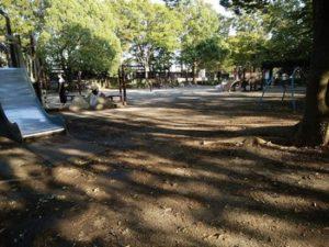 引地台公園のバーベキューエリア