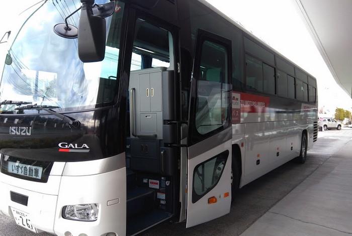 いすゞプラザ送迎バス